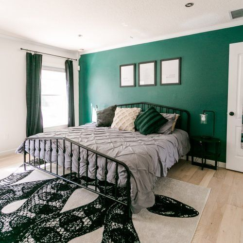 Slytherin Inspired Bedroom A Beautiful Mess Bedroom Inspirations Harry Potter Room Decor Room Inspiration Bedroom