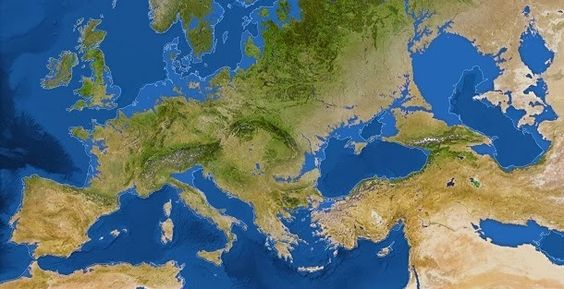 Explore os novos litorais do mundo, se o nível do mar subisse devido ao degelo total do planeta. Veja aqui como será o mundo sem gelo.