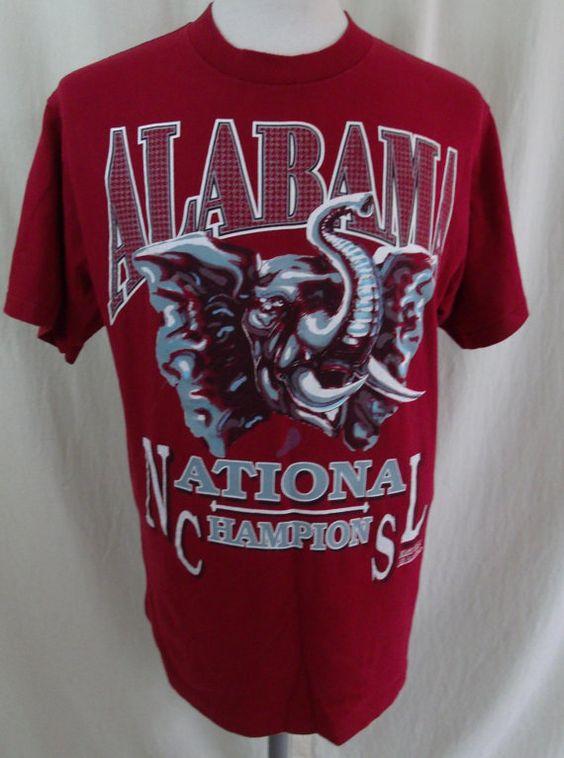 Vintage 90s 1992 Alabama Crimson Tide by MuttleyCrueVintage