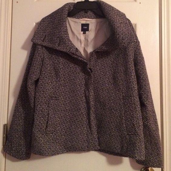 Tweed Swing Coat - Coat Nj