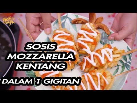 Resep Pasti Nagih Sosis Hotdog Mozzarella Kentang Hotang Sotang Tokebi Tokkebi Youtube Sosis Kentang Mozzarella