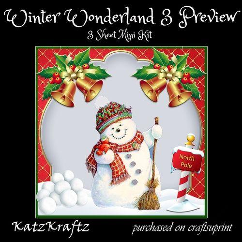Winter Wonderland 3 Winter Wonderland 5 Gifts Gift Tags