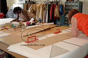 Working with Studio Faro trouser block.