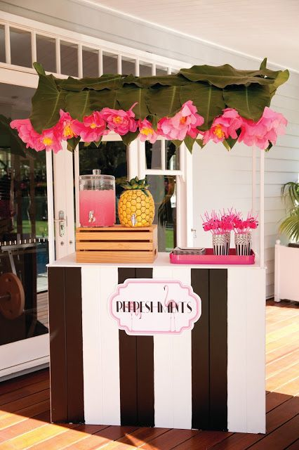 A Palm Beach Chic Flamingo Party- The Glam Pad:
