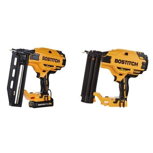Bostitch Bcn662d1 20v Max 16 Ga Straight Finish Nailer Kit With
