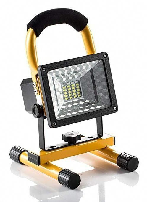 15w 24led Spotlights Work Lights Outdoor Camping Lights With Usb Ports To Charge Mobile Devices An Rechargeable Work Light Emergency Lighting Camping Lights