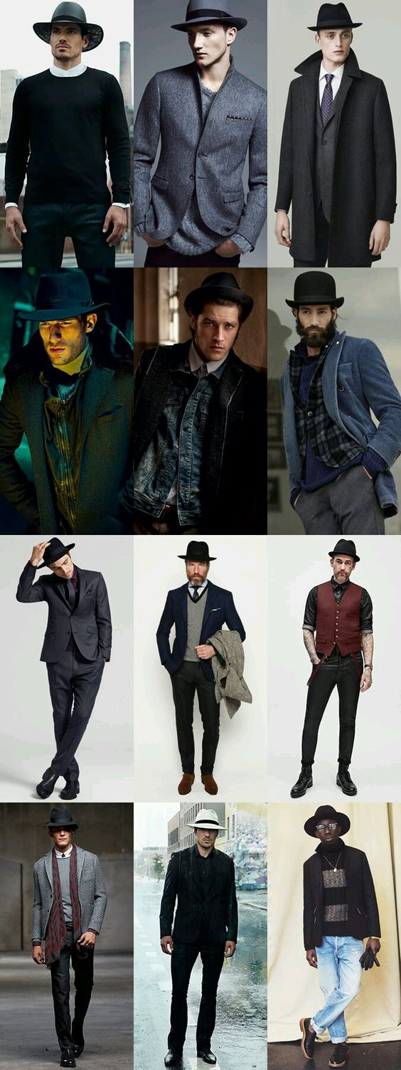 what to wear with fedora hats
