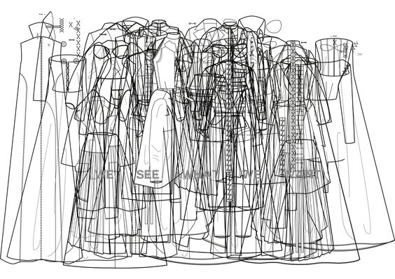 #techpack #technicaldrawing #diplomacollection #stephywinterhalter #fashiondesign  #illustration #art #weseewhatwewant