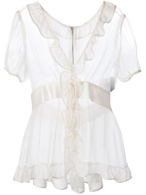 Dolce & Gabbana Blusa De Seda - Profile - Farfetch.com