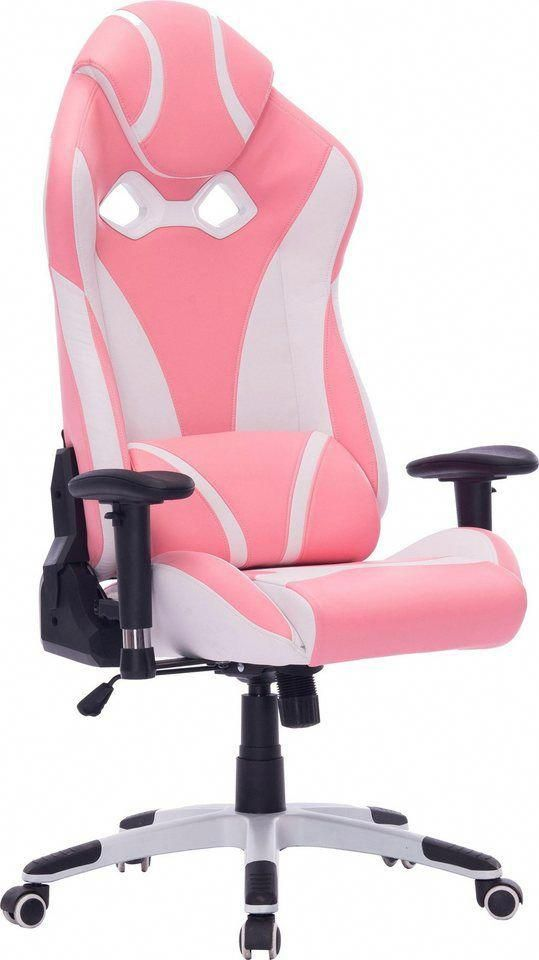 Duo Collection Chefsessel Pink Star Gaming Chair Fur 249 99 Moderne Bicolor Optik Wippmechanik Mit Hartegradeinste Game Room Design Gaming Chair Gamer Room