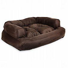 #FairfieldGrantsWishes Snoozer Overstuffed Sofa Pet Bed