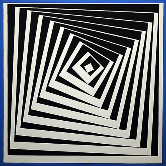 Victor Vasarely. Vásárhelyi Győző, known as Victor Vasarely was an artist who is often regarded as the father of Op Art. He began to study medicine in Hungary, but left the race after two years. Wikipedia