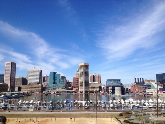 Beautiful day at the Inner Harbor