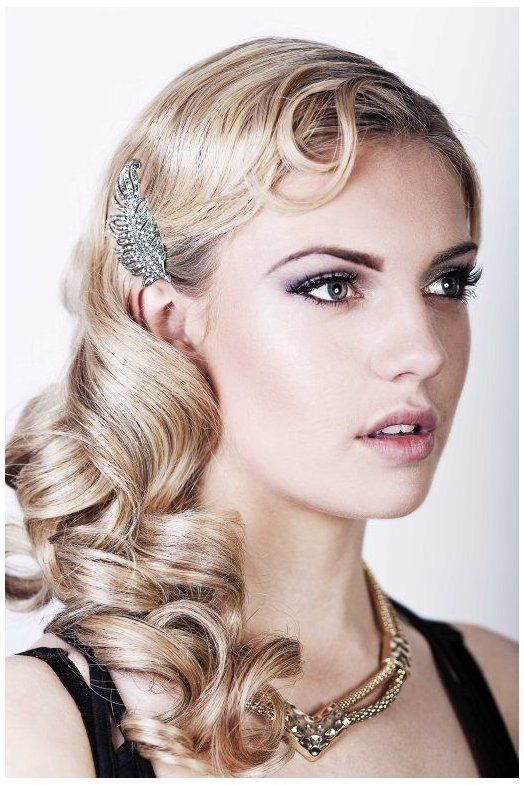 Friday Feature Seriously Great Gatsby 20s Inspired Hair Make Up Tutorial Part I 1920 Hairstyles F Gatsby Hair Long Hair Styles Great Gatsby Hairstyles