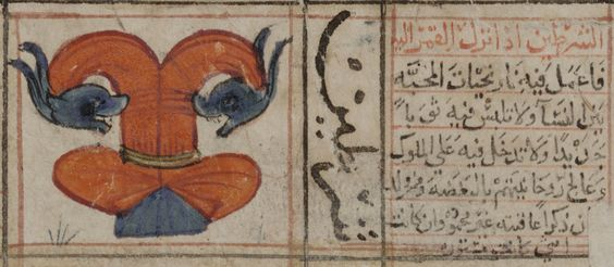 Al Nath From Kitab al-Bulhan, Written in Arabic, compiled by Abd al-Hasan Al-Isfahani, with illustrations. Fol. 81r is in Turkish. location unknown, 1330-1450 MS. Bodl. Or. 133 (shelfmark) http://www2.odl.ox.ac.uk/gsdl/cgi-bin/library?e=d-000-00---0orient02--00-0-0-0prompt-10---4------0-1l--1-en-50---20-about---00001-001-1-1isoZz-8859Zz-1-0&a=d&cl=CL2.2.1&d=orient002-aab.2.54