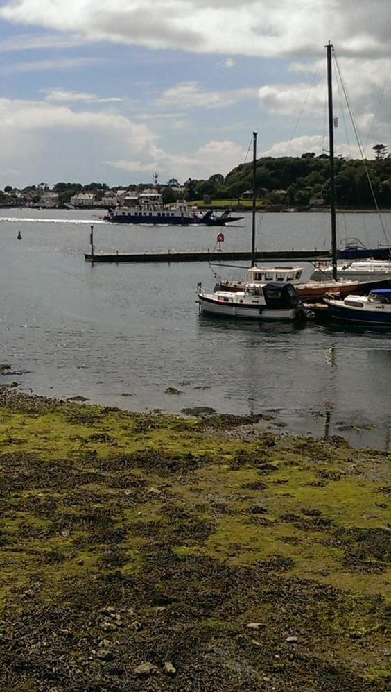 strangford ferry approaching portaferry side