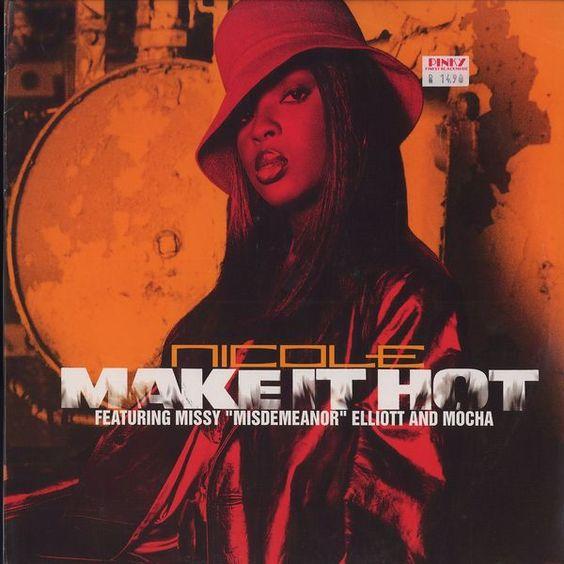 Nicole, Missy Elliott, Mocha – Make It Hot (single cover art)