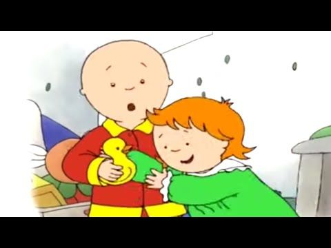 Caillou English Full Episodes Caillou S Toy Fight Cartoons For Kids Caillou Holiday Mov Cartoon Kids Holiday Movie Kids Fighting