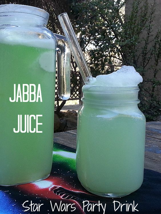 Jabba Juice - Star Wars Party Drink