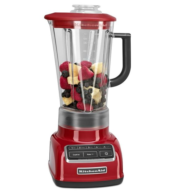 KitchenAid® 5-Speed Diamond Blender (KSB1575ER Empire Red)   for all those smoothies and groothies