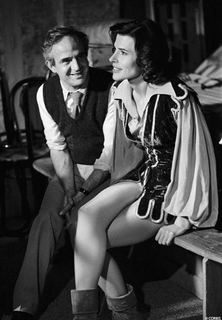 Fanny Ardant et François Truffaut (1984)