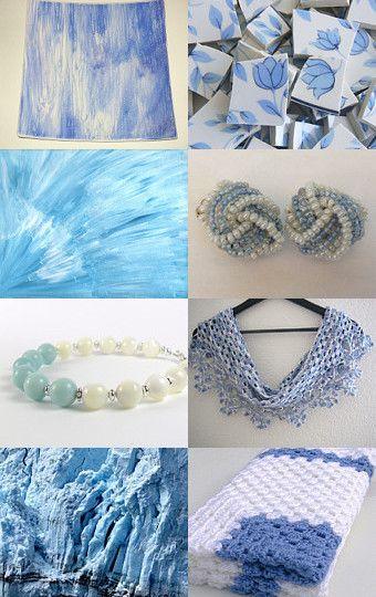 Blue & White!