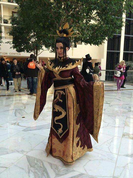 Firelord Azulas cosplay.