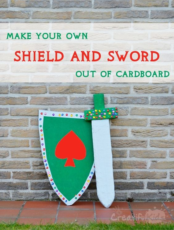 how to make a cardboard sword wikihow