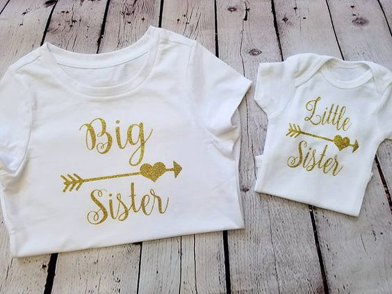 Big Sister Little Sister set by 408made on Etsy