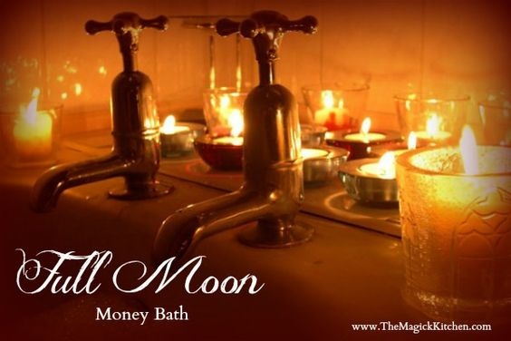 Attract wealth and abundance to you with this simple Full Moon Money Spell.
