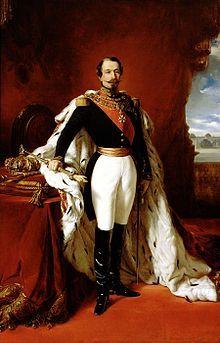 Napoleón III, Presidente de la II República de Francia en 1848 y Emperador en 1852.