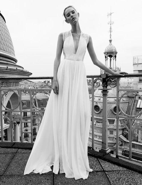 Robe de mariée Elie Saab, disponible à l'espace Maria Luisa Mariage du Printemps