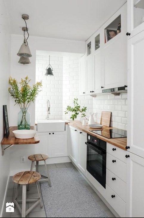 Cucina Piccola Stile Scandinavo Pubblicato Da Homelook It