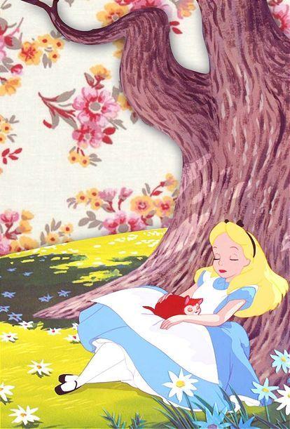 Pin By Milla On ĸæ€è°ã®å›½ã®ã'¢ãƒªã'¹ Disney Alice Disney Wallpaper Disney Background