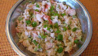 Salade de goberge et crevettes - Recettes du Québec