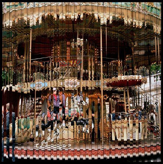 "© Isabel Martinez, ""Quantum Blink - Carrousel""."