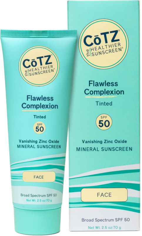 Cotz Flawless Complexion Spf 50 Natural Skin Tone Cotz Face