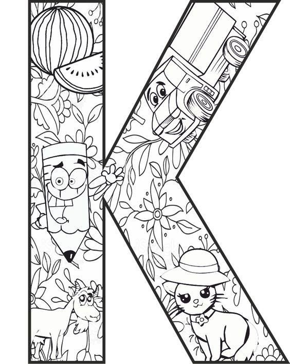 Pin By Anda Pelse On January 2019 Abc Coloring Pages Pattern Coloring Pages Coloring Pages