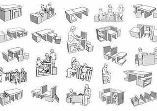 Simples Assim e .: Moveis Multifuncionais.