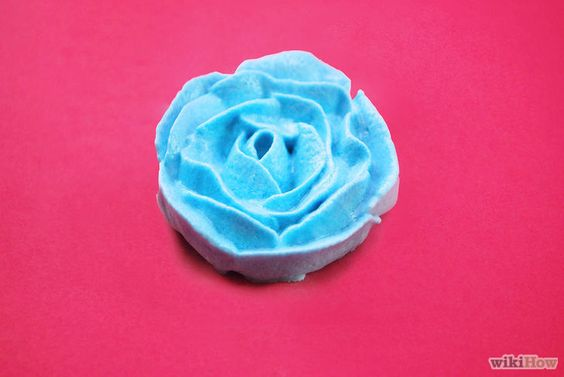 rosas de glacê