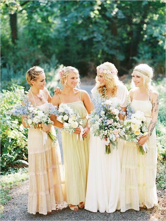 #bouquet demoiselle d'honneur #mariage #fleurs