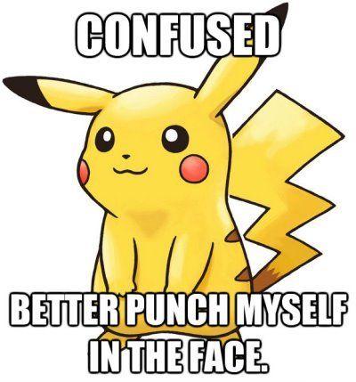 Pokémon - This only makes sense in the Pokémon world.