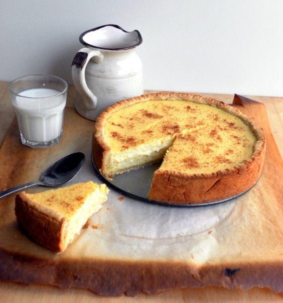 Пасхальный пирог с рикоттой.