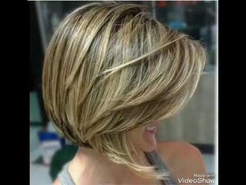 جديد قصات الشعر التی زلزلت الفاسبوك في هذا الموسم للاطلالة جد رائعة Youtube Short Bob Hairstyles Bob Hairstyles Short Hair Highlights