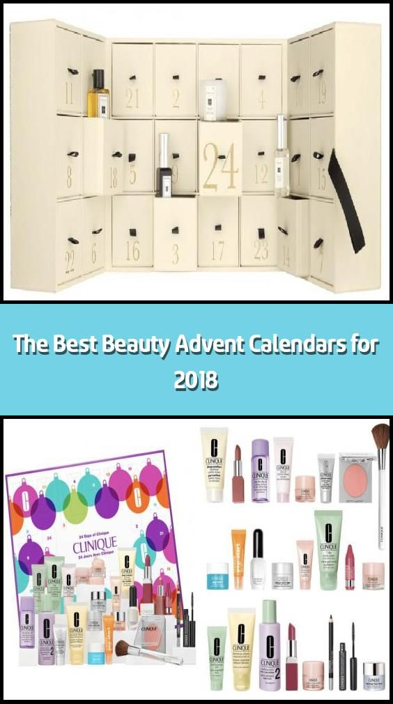The Best Beauty Advent Calendars For 2018 Christmas Is Almost