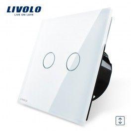 Interrupteur LIVOLO tactile commande volet roulant