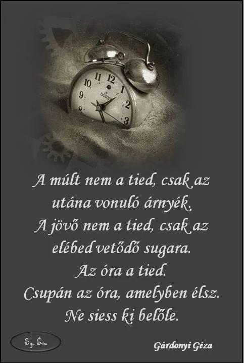 múltról szóló idézetek A múlt nem a tiéd.,Mindenkinek arra van ideje..,Psota Irén