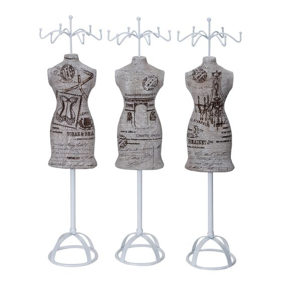 Set of 3 Jewlery Stands    perfect for all my jewlery