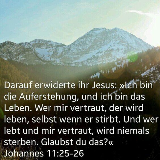 Ewiges Leben durch Jesus