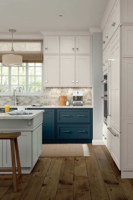 Kitchen Cabinetry Ideas And Inspiration Be Inspired By This Two Tone Kitchen Cabin Contemporary Kitchen Cabinets Kitchen Renovation Contemporary Kitchen